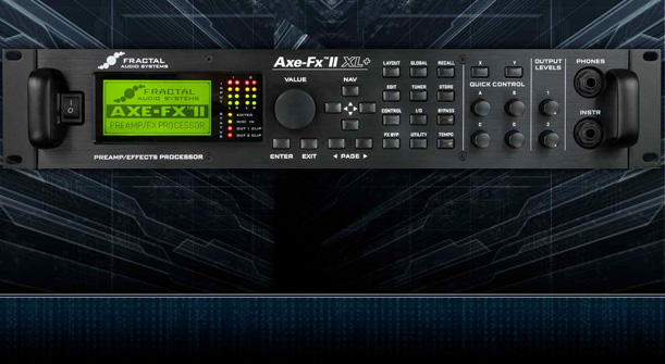 Fractal Audio Axe-Fx XL+: The Ultimate Guitar Processor