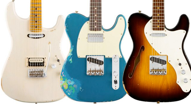 Summer NAMM 2016: Fender Custom Shop relics and guitar mash-ups