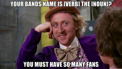 Naming your band