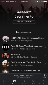 Promote Your Concerts on Spotify