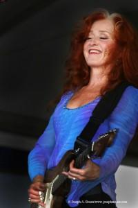 Bonnie Raitt - photo credit: Joseph A. Rosen